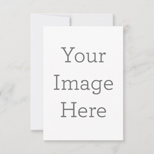 Create Your Own Flat Greeting Card