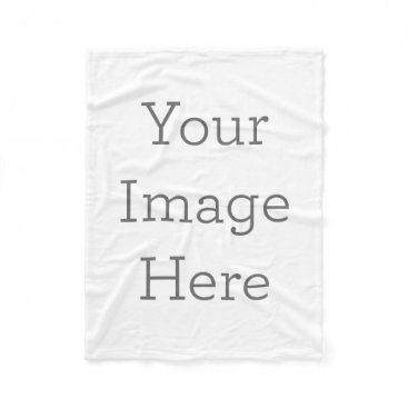 zazzle_templates Create Your Own Fleece Blanket