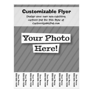 create your own flyers zazzle