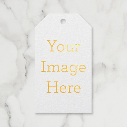 Create Your Own Foil Gift Tag