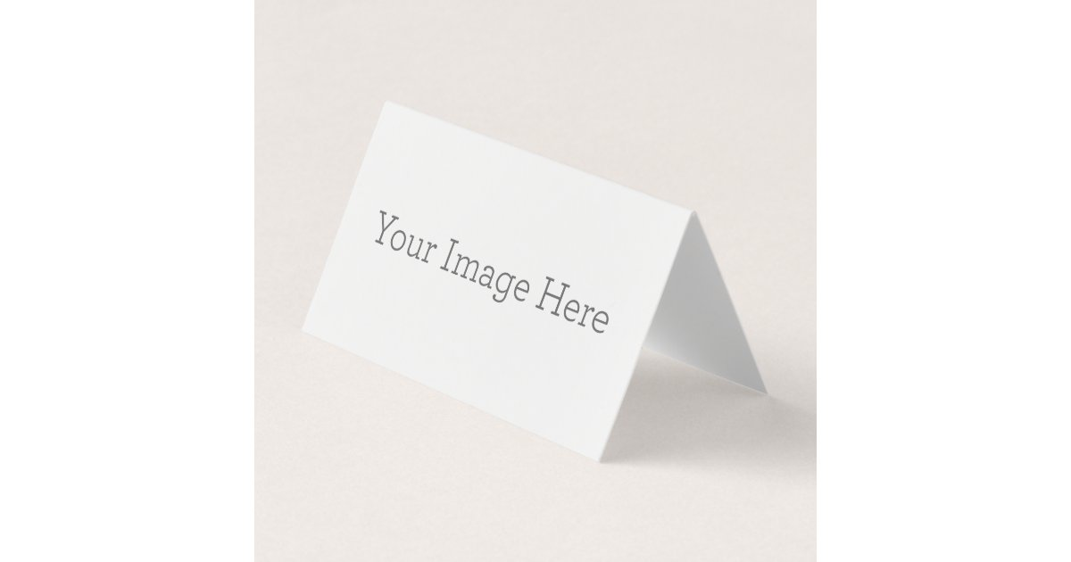 create your own folded place card zazzle com
