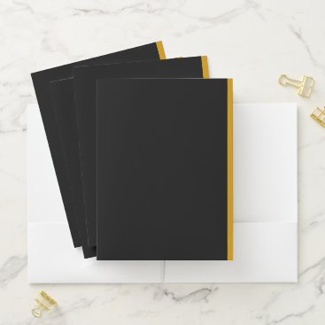 Professional Business CREATE YOUR OWN FOLDERS with Business Card Slots