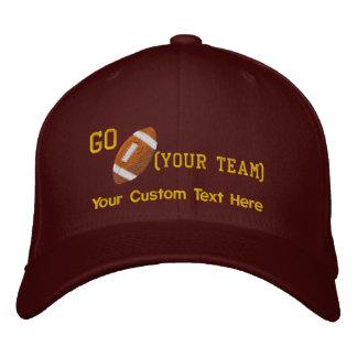 Create Your Own Football Cap Baseball Cap