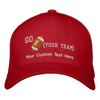Create Your Own Football Cap Embroidered Hat