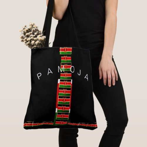 Create Your Own Foreign Kenya Pamoja Tote Bag