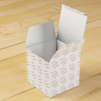 Create Your Own Party Favor Boxes