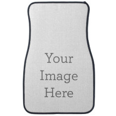 Create Your Own Front Car Mat at Zazzle