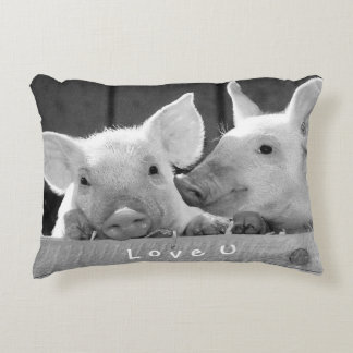 Create Your Own Funny Photo Love You Custom Decorative Pillow
