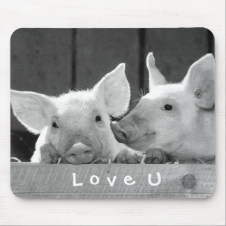 Create Your Own Funny Photo Love You Custom Mouse Pad