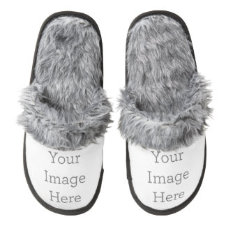 Create Your Own Pair Of Fuzzy Slippers