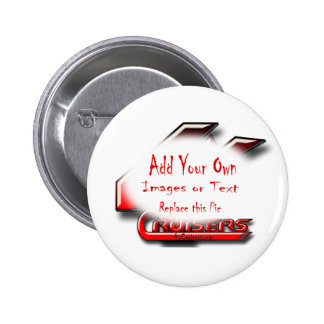Create Your Own Gear Pinback Button