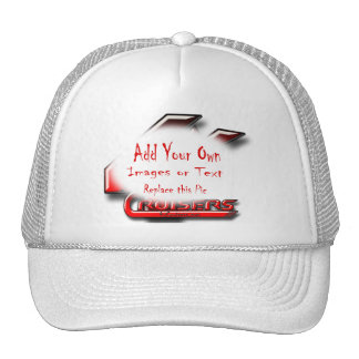 Create Your Own Gear Mesh Hat