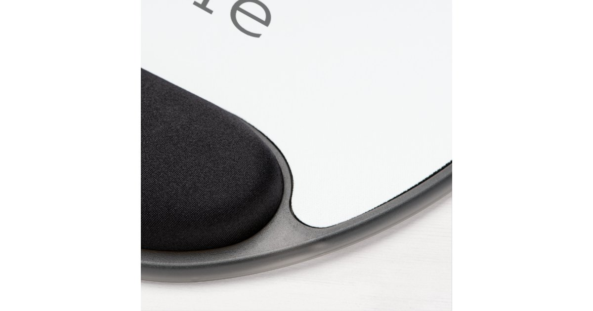 gel mousepad zazzle. Black Bedroom Furniture Sets. Home Design Ideas