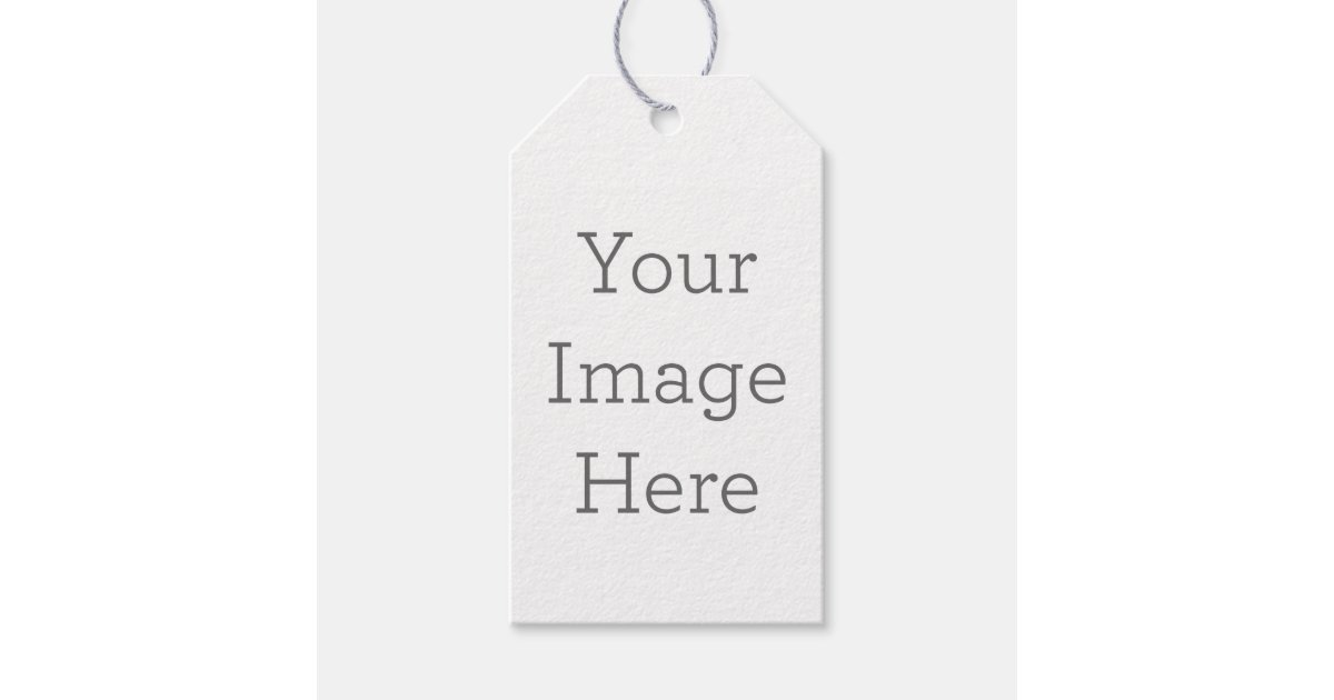 Create Your Own Gift Tag Zazzle