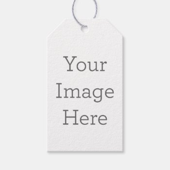 Create Your Own Gift Tags by zazzle_templates at Zazzle