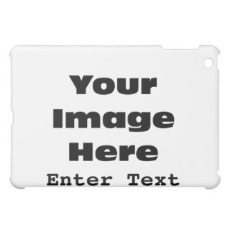 Create Your Own Gift Template iPad Mini Cover