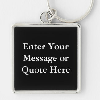 Create Your Own Gift Template Key Chains