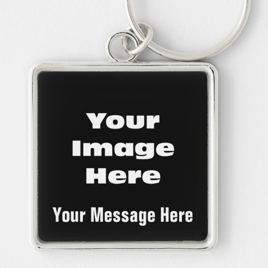 Create Your Own Gift Template Keychain
