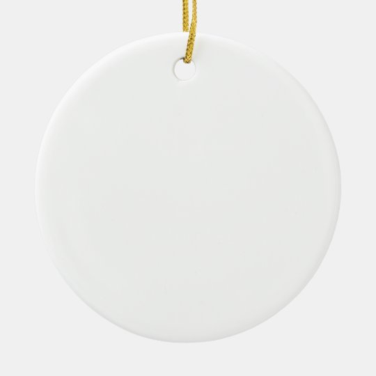 ♪♫♪ Create Your Own Gifts ~ Customize Blank Ceramic Ornament