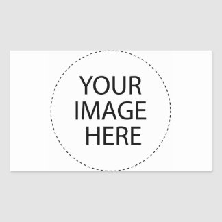 ♪♫♪ Create Your Own Gifts ~ Customize Blank Rectangular Sticker