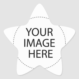 ♪♫♪ Create Your Own Gifts ~ Customize Blank Star Sticker