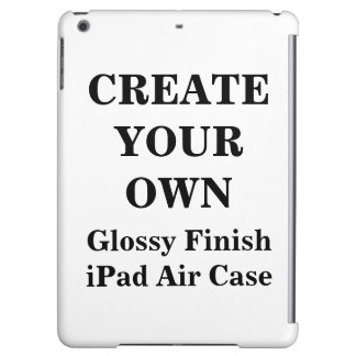 Create Your Own Glossy Finish iPad Air Case