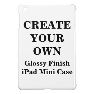Create Your Own Glossy Finish iPad Mini Case