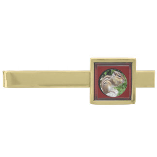 Create your own gold finish tie clip