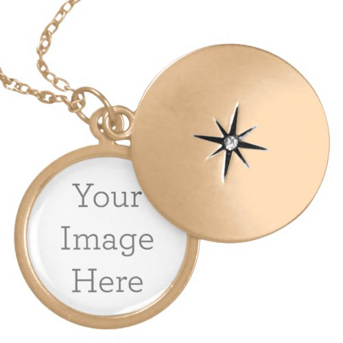 Create Your Own Gold Plated Locket