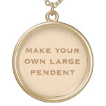 Create Your Own Gold Plated Necklace<br><div class='desc'>Create Your Own gold plated necklace by adding a treasured photograph or memorabilia item</div>