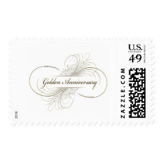 Create Your Own Golden Anniversary Design Postage