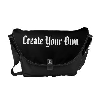Create Your Own Gothic Messenger Bag