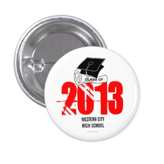 Create Your Own Graduation Button Diploma