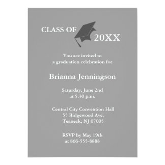 Create Your Own Graduation Invitation 5