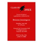 "Create Your Own Graduation Invitation 6 4.5"" X 6.25"" Invitation Card"