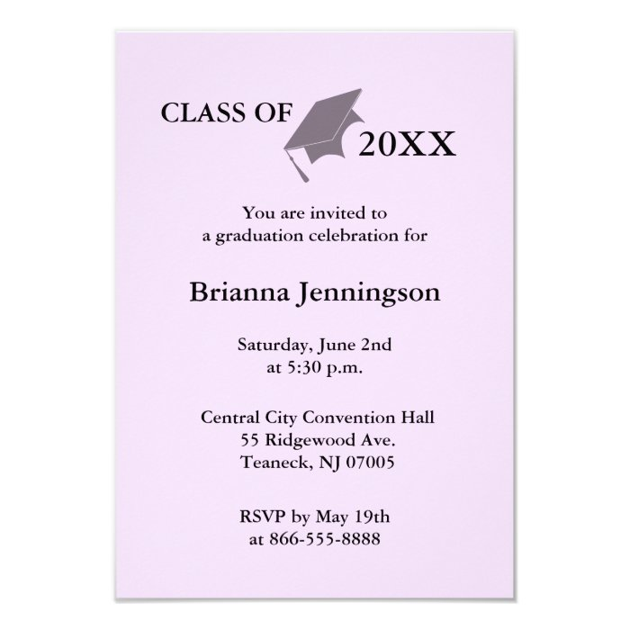 Create Your Own Graduation Invitation 7