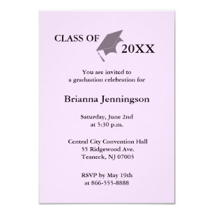 university graduation party rsvp cards templates zazzle