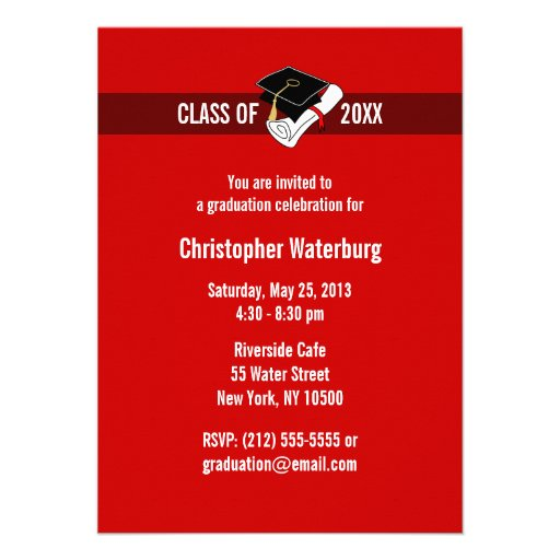 Create Your Own Graduation Invitations for your inspiration to make invitation template look beautiful