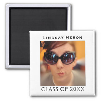 Create Your Own Graduation Photo | Name Class Year Magnet