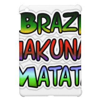 Create Your Own Green Brazil Hakuna Matata Gifts iPad Mini Case