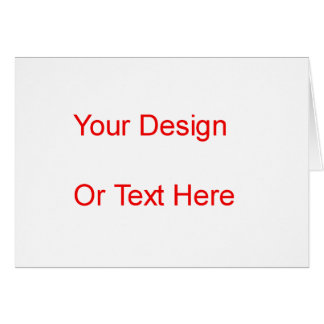 Create Your Own Greeting Card
