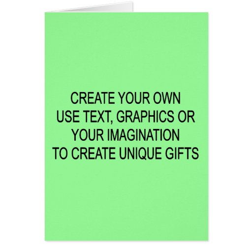 Create Your Own Greetings Cards Zazzle