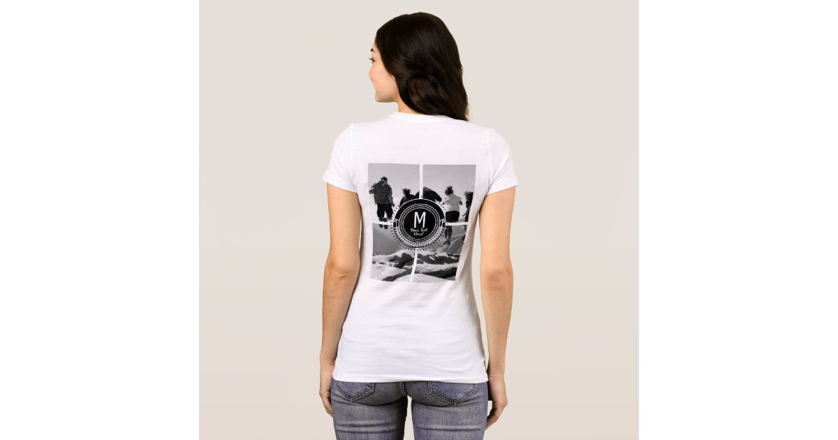 Create your own group team club photo apparel t shirt zazzle for Make a photo t shirt