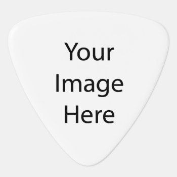 Create Your Own Guitar Pick by zazzle_templates at Zazzle