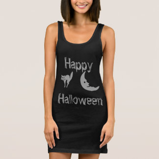 Create your own Happy Halloween  trick or treat Sleeveless Dress