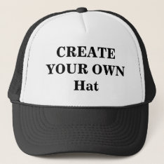 Create Your Own Hat at Zazzle