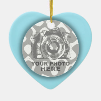 Create Your Own Heart Ornament Pastel Frame