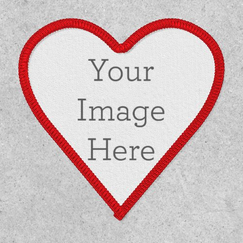 Create Your Own Heart Patch
