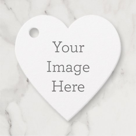 Create Your Own Heart-Shaped Favor Tags