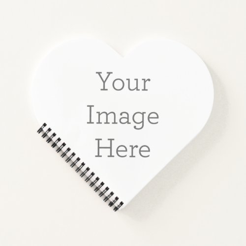 Create Your Own Heart Softcover Spiral Notebook